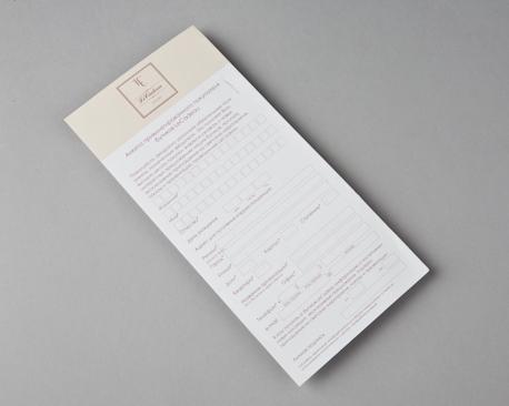 Как напечатать лифлет